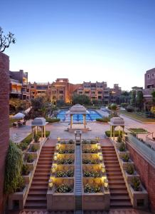 A view of the pool at ITC Rajputana, a Luxury Collection Hotel, Jaipur or nearby