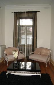 A seating area at Hotel Rural Villa Julia