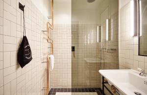 A bathroom at The Hoxton, Amsterdam