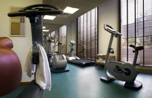 The fitness center and/or fitness facilities at Aparthotel Adagio Annecy Centre
