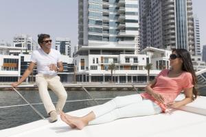 Goście zatrzymujący się w obiekcie La Verda Suites and Villas Dubai Marina