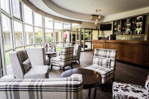 The lounge or bar area at Foothills