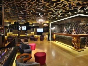 Лаундж или бар в Hotel Zurich Istanbul