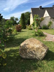 Ein Garten an der Unterkunft Ferienhaus in Bartelshagen II