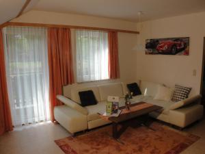 Ein Sitzbereich in der Unterkunft Apartment St. Nikola