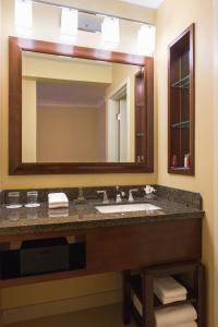 A bathroom at Chicago Marriott Oak Brook