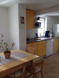 Küche/Küchenzeile in der Unterkunft Ferienhaus Borntal