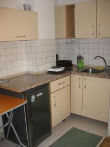 Kuhinja oz. manjša kuhinja v nastanitvi Ms.Melody Apartment