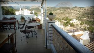 A balcony or terrace at Villa Pico