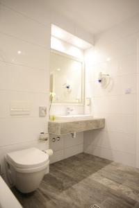 A bathroom at Hotel Ideja