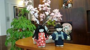 Children staying at Sakura Hotel