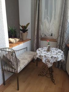 Гостиная зона в Apartment on Krasnaya