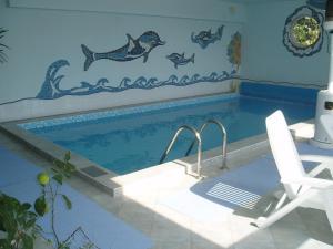 Der Swimmingpool an oder in der Nähe von Gästehaus Haagen