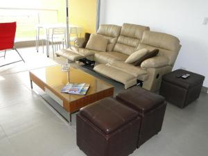 A seating area at Nuevo Paracas