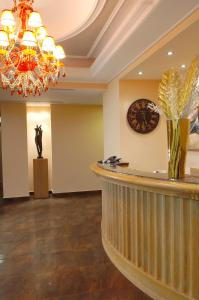 The lobby or reception area at Olympic Fashion Hotels