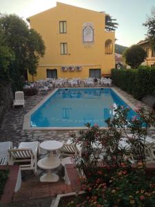 The swimming pool at or near Hotel La Conchiglia