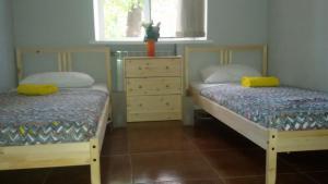 Кровать или кровати в номере Vagon