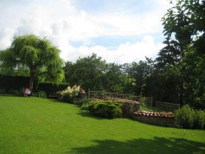 Jardin de l'établissement Les Ombelles