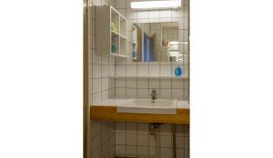 A bathroom at Hotel Jalaskievari