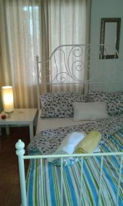 A bed or beds in a room at Apartment Lukin