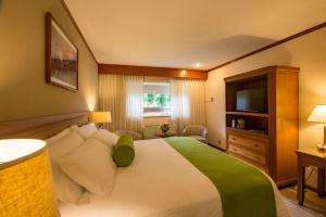 Cama o camas de una habitación en Hotel Globales Camino Real Managua