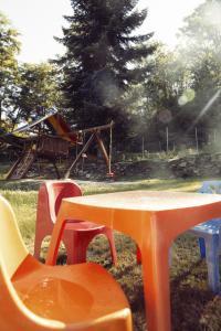 Area giochi per bambini di Agriturismo Rossolampone