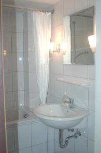 A bathroom at Köln Appartement
