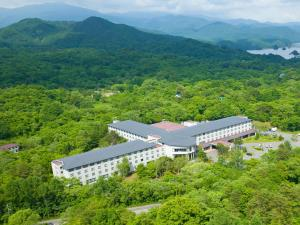 A bird's-eye view of Active Resorts Urabandai