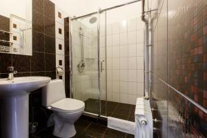 Ванная комната в Отель Звездный