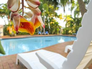 The swimming pool at or near Mission Beach Hideaway Holiday Village
