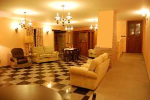 The lobby or reception area at Pacio do Sil