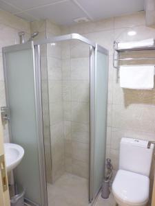 Ванная комната в İpek Hotel
