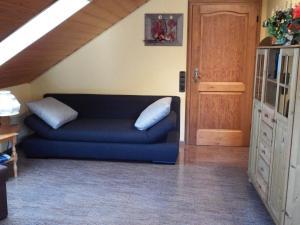 Ein Sitzbereich in der Unterkunft Ferienwohnung Georg