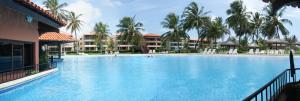 A piscina localizada em Aquaville Resort ou nos arredores