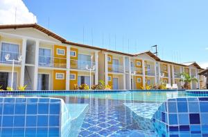 The swimming pool at or near Residencial Mont Carmelo - Tonziro