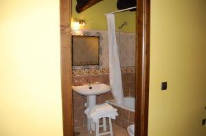 A bathroom at Pacio do Sil