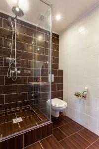 A bathroom at Hostel Kvartira 31