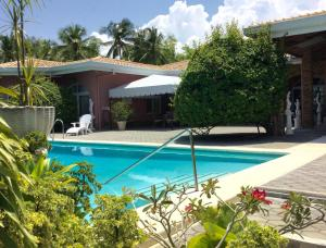 The swimming pool at or near Villa Rosa Cebu