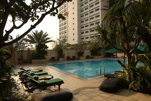 The swimming pool at or close to Aryaduta Menteng