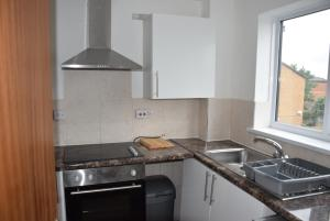 A kitchen or kitchenette at Granary Close Apartment