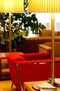 Area soggiorno di Dal Moro Gallery Hotel