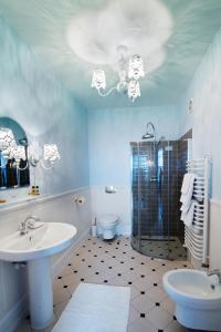 Łazienka w obiekcie Hotel Mikołaj