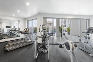 The fitness center and/or fitness facilities at Oaks Darwin Elan Hotel
