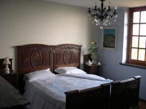 Ein Bett oder Betten in einem Zimmer der Unterkunft Anticoborgo