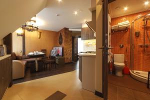 The lobby or reception area at StoneBridgeLuxApart