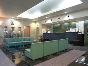 The lobby or reception area at Minami Fukuoka Green Hotel