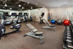 The fitness center and/or fitness facilities at The Westin San Jose