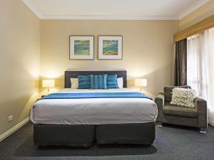 A bed or beds in a room at Comfort Inn & Suites Sombrero