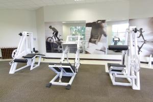 The fitness center and/or fitness facilities at Cresta Lodge Gaborone