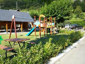 Children's play area at Camping Prado Verde